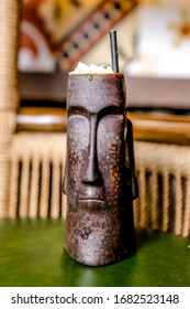 Tiki style Cocktail preparation with twist