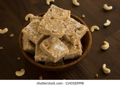 Tilachi barfiis a healthy and tasty sweet delicacy made in North India. The sweet is mainly prepared on festive season mostly at the occasion of Makar Sankranti.