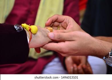 TILAK CEREMONY A PRE MARRAGE RITUAL OF HINDU'S