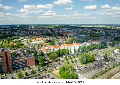 Tilburg Netherlands city view panorama Holland