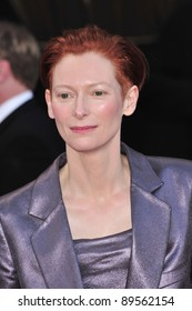 Tilda Swinton at the 14th Annual Screen Actors Guild Awards at the Shrine Auditorium, Los Angeles, CA. January 27, 2008  Los Angeles, CA. Picture: Paul Smith / Featureflash