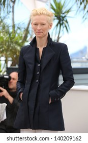 Tilda Swinton at the 66th Cannes Film Festival - Only lovers left alive - photocall Cannes, France. 25/05/2013