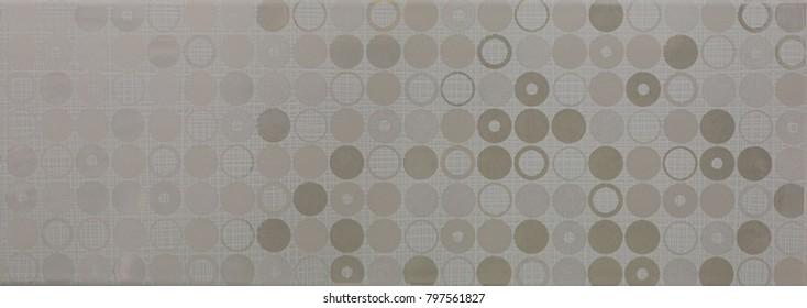 tile, ceramic mosaic geometric abstract pattern