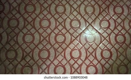 Tile design colorful background