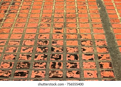 Tile floor texture