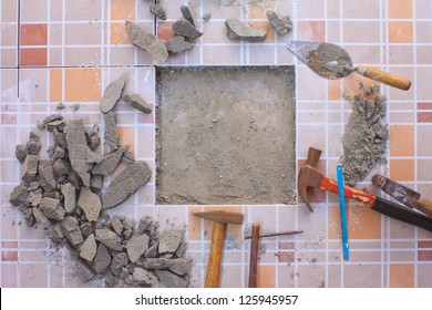 Tile flooring is a construction equipment.