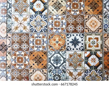 Tile for flooring, interior decoration