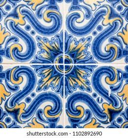 Tile in Lisboa Portugal