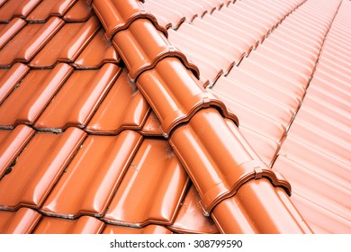 Tile on the roof