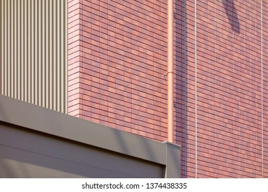 Tile outer wall of house