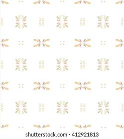 Tile pattern background : Brown