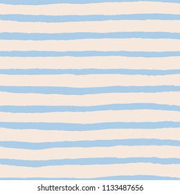 Tile pattern with pastel blue stripes