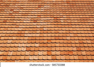 Tile roof of old texture background surface natural color