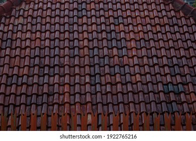 Tile roof to protect from hot sun and heavy rain.