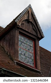 Tile roof with a window
