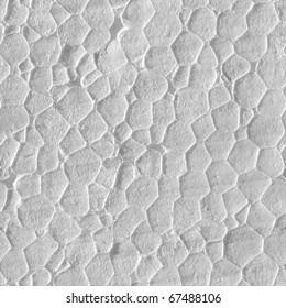 tile seamless styrofoam texture. Black and white picture.