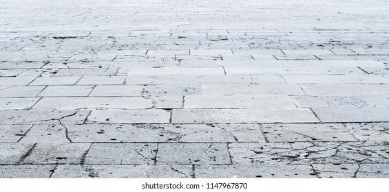 tile sidewalk is old