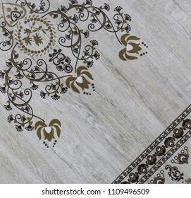 tile texture, abstract ornate pattern