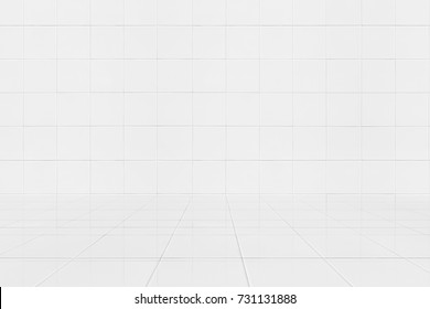 tile wall reflect on the shiny tile floor texture background ,Home Design bathroom wall background