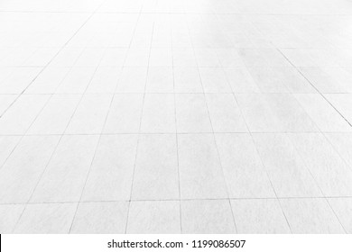 Tiled floor marble white ideal for a background and used in interior design.