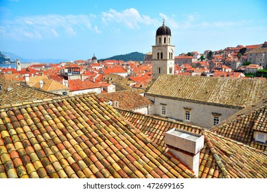 Tiled roof in Dubrovnik