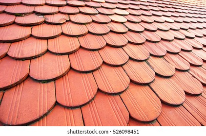 Tiled roof. Real roof.