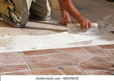 Tiler trade