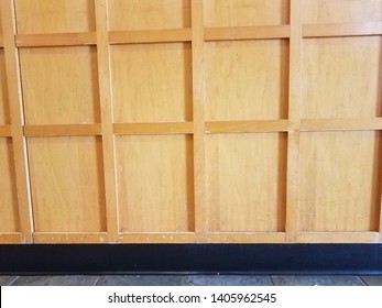 tiles and brown wood cabinet or furniture