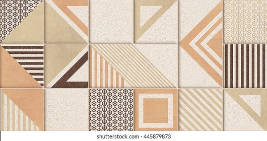 The tiles are the good texture for the background artwork,interior decoration and architectural design material