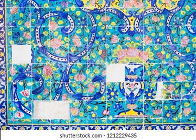 Tiles in Iran.