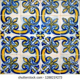Tiles of Loios convent in Santa Maria da Feira, Portugal