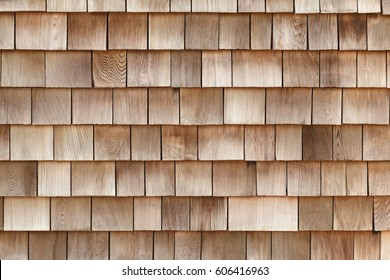 Tiles made of wooden planks. Wall decoration mockup.
