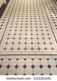 tiles on floor style design ethno klasik