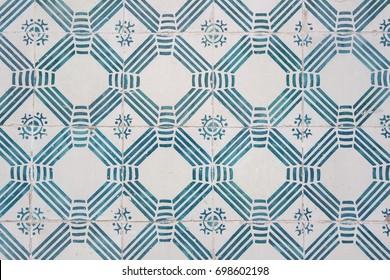 Tiles pattern in Lisbon