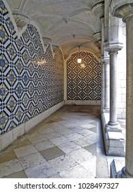 Tiles. Portuguese, architecture.