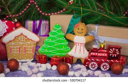 till life Christmas gingerbread cookies