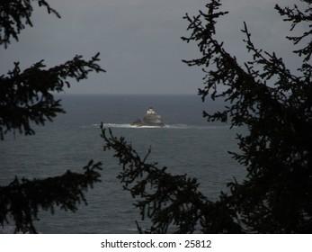 Tillamook Head lighthouse near Seaside, OR.