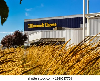 Tillamook, OR/USA - Aug. 8, 2013: Tillamook County Creamery Asso. It manufactures and sells dairy products under the Tillamook brand name.