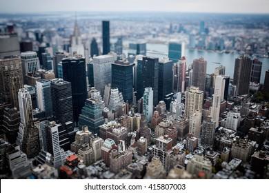 Tilted Manhattan