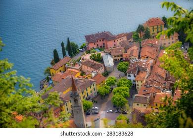 Tilt-shift Varenna, Lake Como, Italy