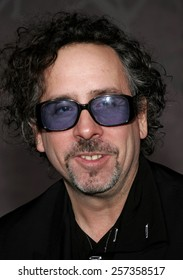 "Tim Burton attends the World Premiere of ""The Nightmare Before Christmas 3D"" held at the El Capitan Theatre in Hollywood, California on October 16, 2006."