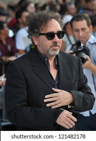 """Tim Burton at the premiere of his movie """"Frankenweenie"""" at the El Capitan Theatre, Hollywood. September 24, 2012  Los Angeles, CA Picture: Paul Smith"""