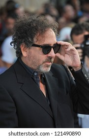 "Tim Burton at the premiere of his movie ""Frankenweenie"" at the El Capitan Theatre, Hollywood. September 24, 2012  Los Angeles, CA Picture: Paul Smith"