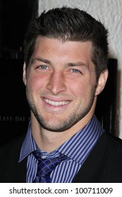 """Tim Tebow at the """"Act Of Valor"""" Los Angeles Premiere, Arclight, Hollywood, CA 02-13-12"""