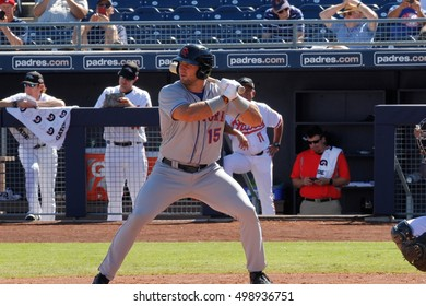 Tim Tebow outfielder for the  Scottsdale Scorpions at Peoria Stadium in Peoria AZ USA 10-13-2016.