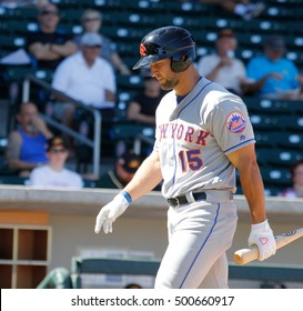 Tim Tebow outfielder for the Scottsdale Scorpions at Sloan Park in Mesa AZ USA 1O-18,1026.