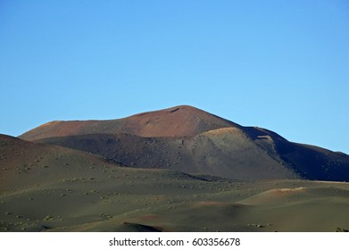Timanfaya National Park on the island of Lanzarote, Canary Islands, Spain, Europe