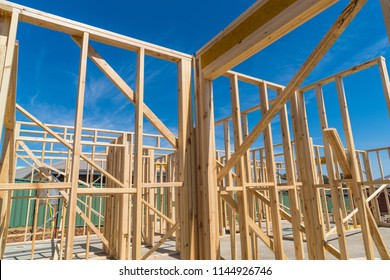 Timber Frame and Truss of House Under construction in Australia