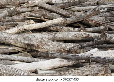 timber logs piled on top of one another