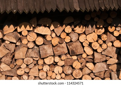 Timber under the roof